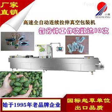 DLZ-420F槟榔高速全自动拉伸膜真空包装机