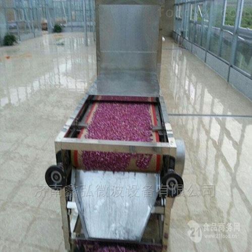 玫瑰花微波烘干杀青设备 花卉烘干技巧