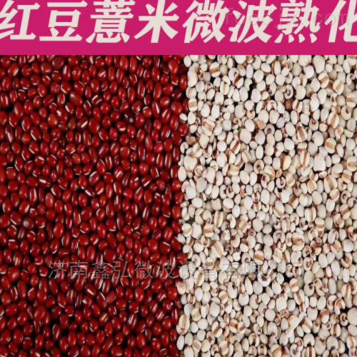 薏米干燥熟化微波设备