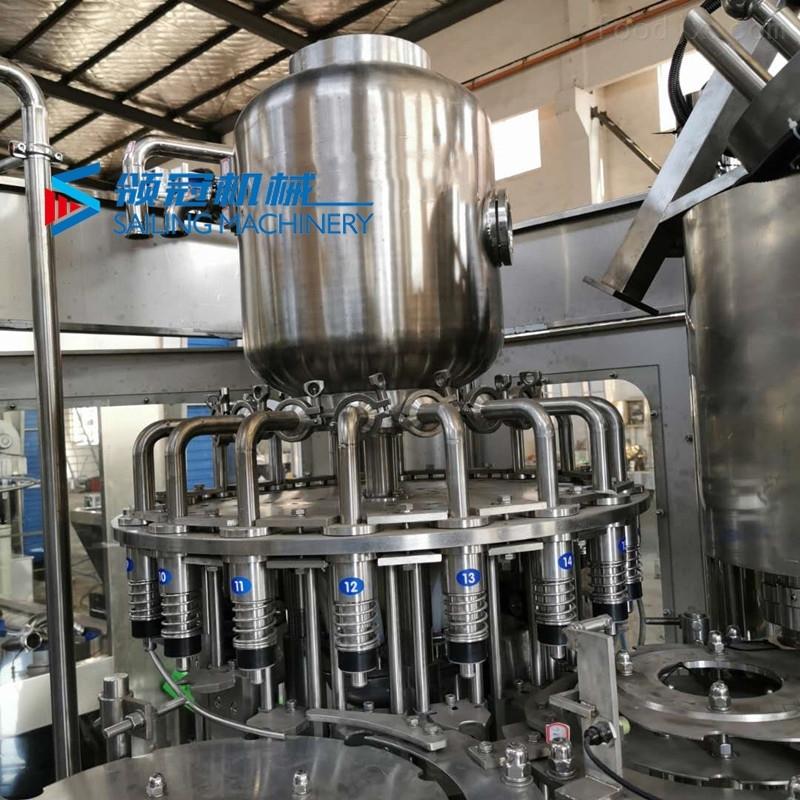 不锈钢苏打水灌装生产线