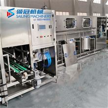桶装纯净水灌装设备生产线