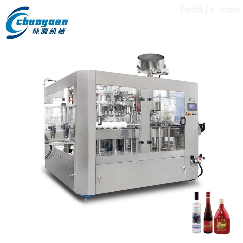 多用途全自动小型白酒灌装机