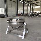 200可倾式蒸汽夹层锅优势 304不锈钢材质