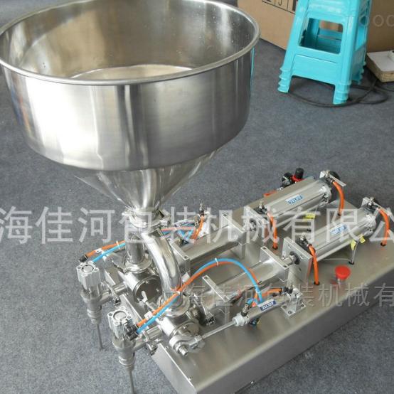 GH-2双头膏体酱类灌装机