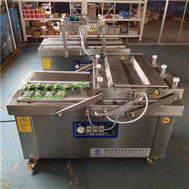 麻辣鱼干海产品真空包装机四封条高产量