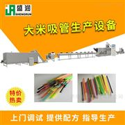 EXT100吸管设备自动化环保大米吸管生产设备