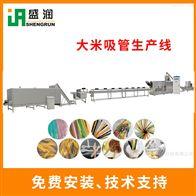 DLG100环保可降解大米吸管设备
