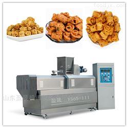 YS65-III小黄米双螺杆膨化机休闲食品生产线