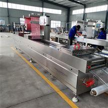 DZR 420小酥肉全自动拉伸膜真空包装机