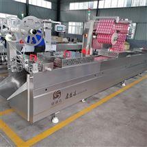 DZR-630宽粉拉伸膜全自动真空包装机
