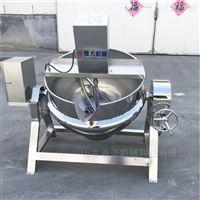 600L熏鸡用卤煮锅   蒸汽加热可倾夹层锅