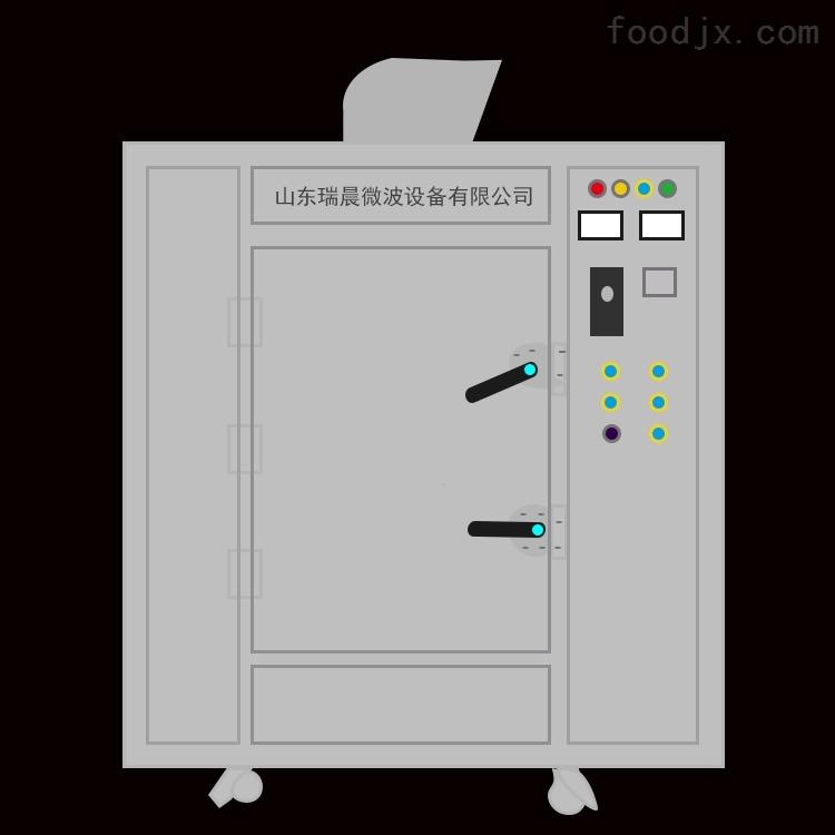 小型箱式黑水虻虫微波烤箱 有温控