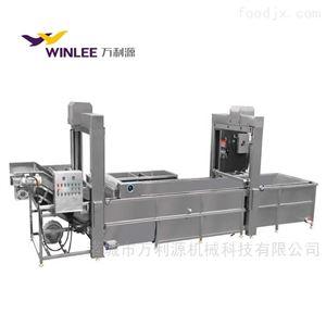 WLYJD-8000提升式肉类解冻蒸煮机流水线