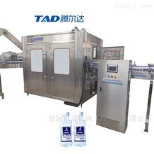 18-18-6三合一不锈钢苏打水饮料灌装机生产线