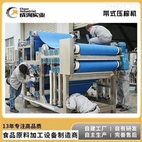 CXL-GJ定制 带式压榨机 石榴破碎 浓缩汁加工设备