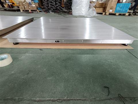 合肥1吨不锈钢平台秤 2t防腐蚀电子地磅