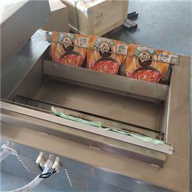 辣白菜下凹式真空包装机酱菜凹槽式包装防水