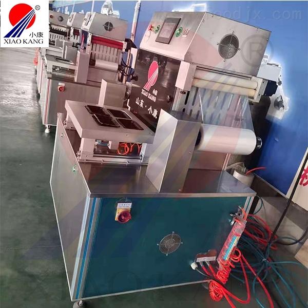 蟹棒肉盒装气调真空包装机