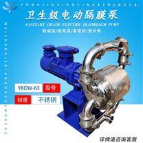 食品级电动隔膜泵