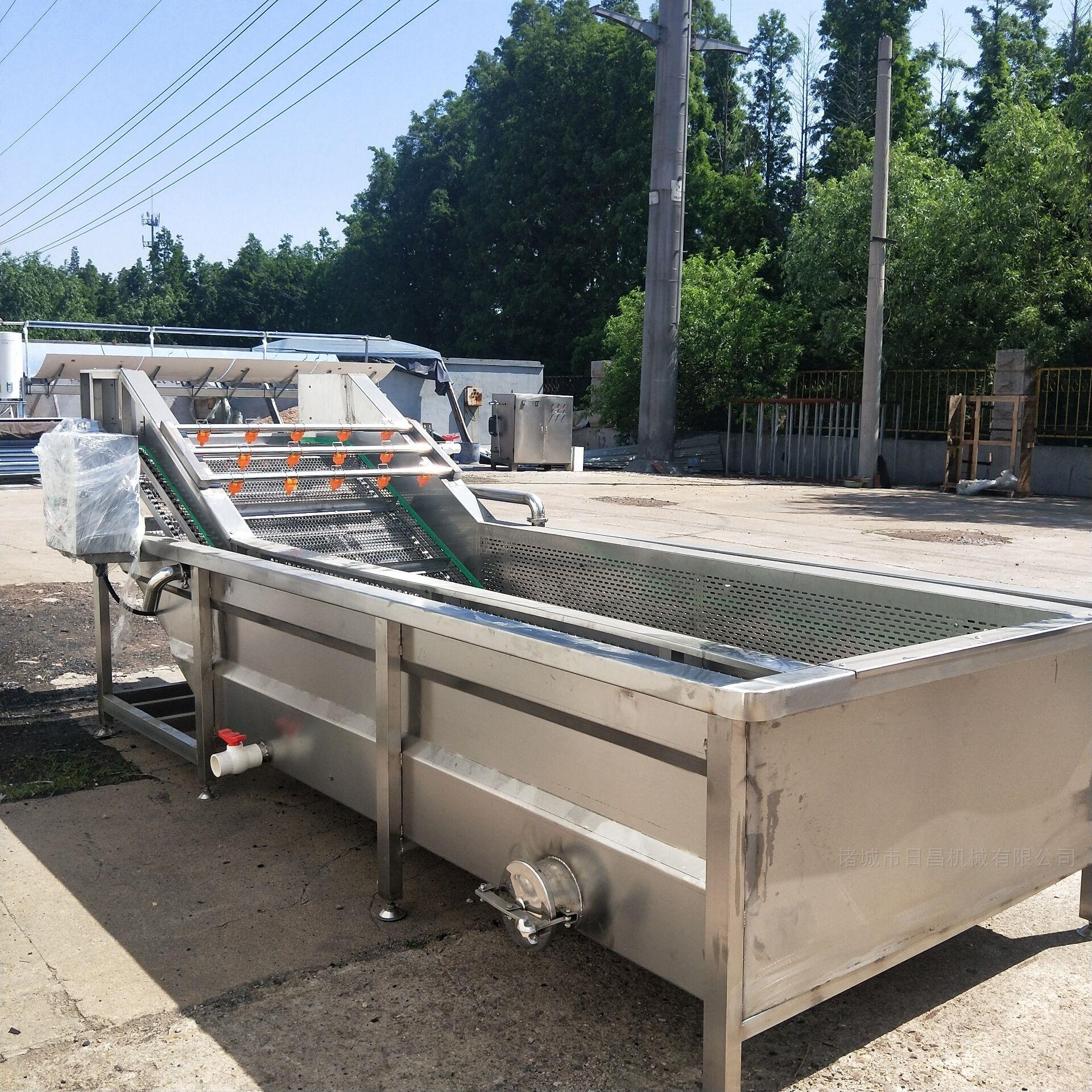 专业生产果蔬清洗流水线厨房净菜设备