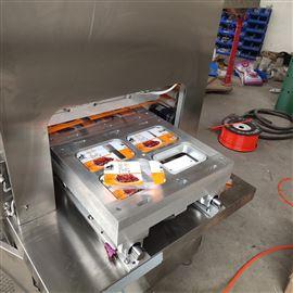 卤汁盒装无骨鸡爪充气锁鲜包装机
