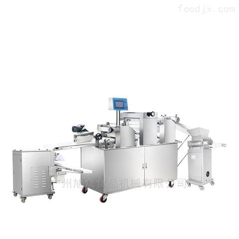 自动化仿手工三道擀面酥饼机