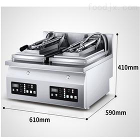 GYD-02双头不锈钢全自动煎饺机