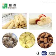 TSE65整套夹心米果生产设备-休闲食品机械