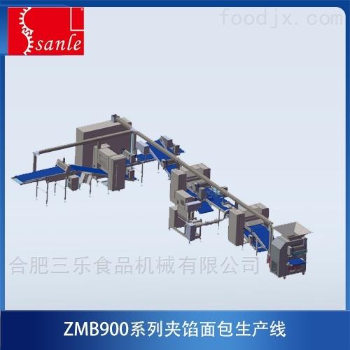 ZMB900 夾餡面包生產線