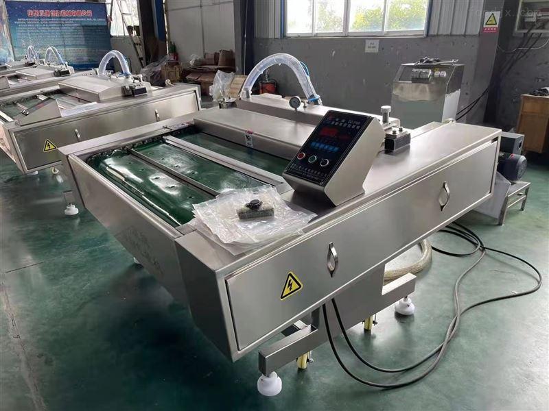 莲子食品滚动式真空包装机