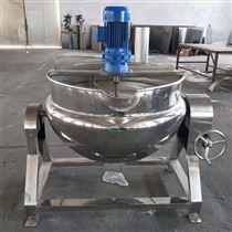RC500L全自动电加热燃气加热搅拌式可倾夹层锅