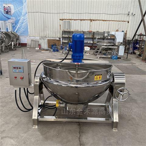 电加热可倾式搅拌夹层锅