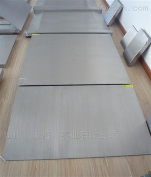 生鲜加工2吨不锈钢地磅 1000kg防水平台秤