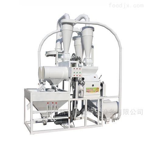 多功能磨粉机新款全自动皮芯分离小麦磨面机