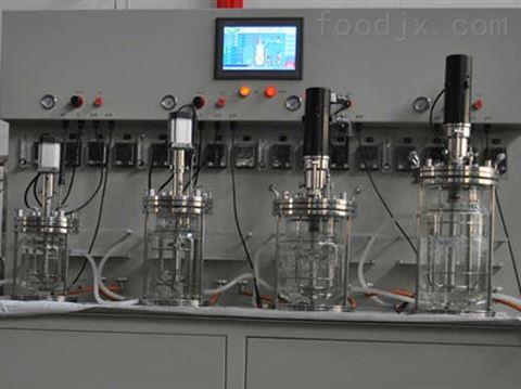 1L2L3L5L多级玻璃发酵罐