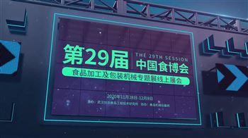 第29屆中國食品博覽會食品加工及包裝機械專題展——線上展會閉幕式