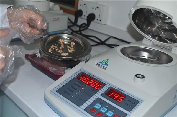卤素肉类快速水分分析仪