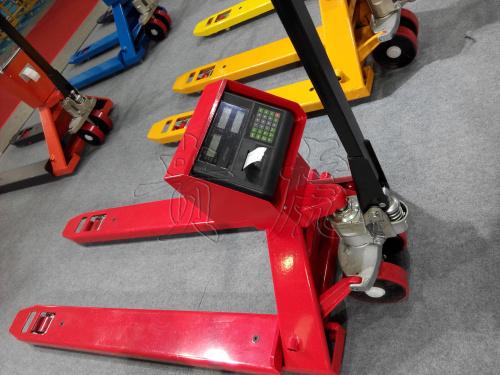 带打印电子叉车秤-2吨带打印液压叉车秤