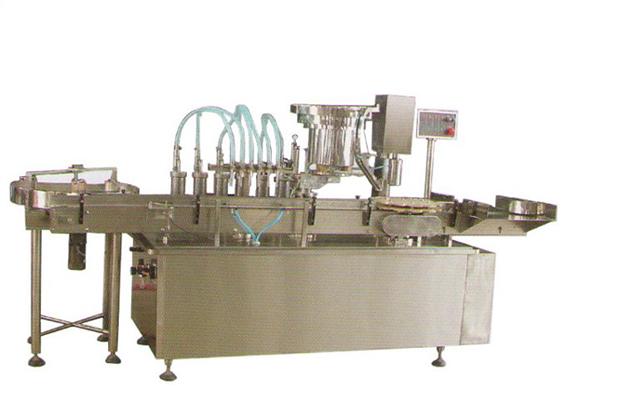 GX异形瓶灌装旋(轧)盖一体机