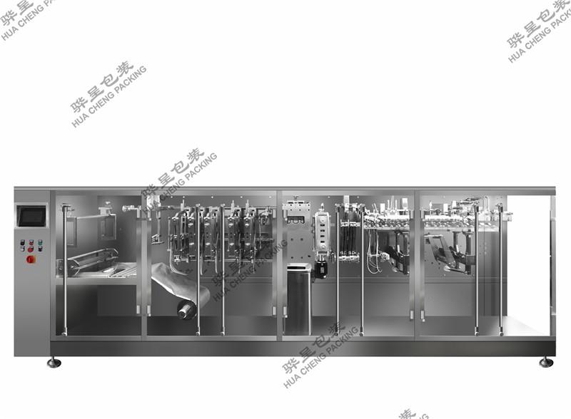 上海骅呈饮品包装机,自动计量液体包装机,全固体饮料包装机